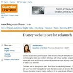 Disney website set for relaunch