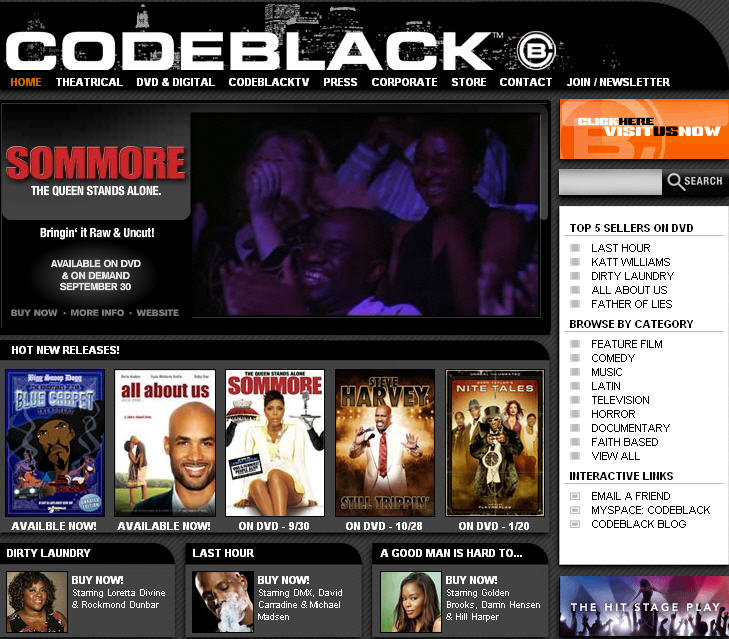 YouTube partner Codeblack to distribute African American content