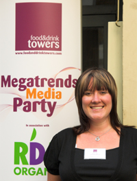Photograph Helen Lewis, Managing Director at Food and Drink Towers