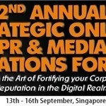 2nd Annual Strategic Online PR and Media Relations Forum