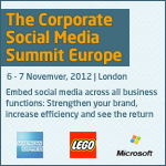 Useful Social Media The Corporate Social Media Summit Europe banner