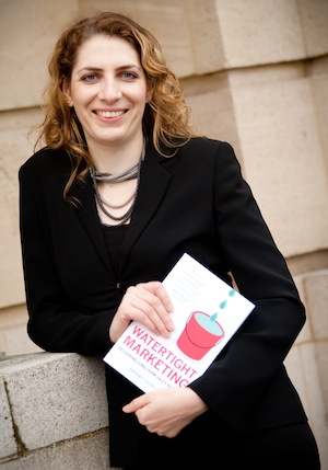 Photograph of Bryony Thomas author of Watertight Marketing
