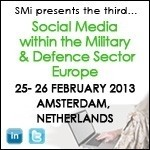 Social media for the military sector event arrives next week