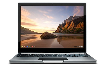 Hyperlink to Chromebook Pixel laptop image