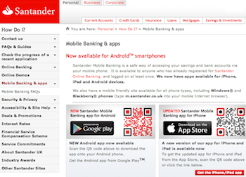 News - Santander releases new Android and Kindle mobile banking apps