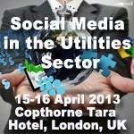 Social Media in the Utilities Sector conference arrives in London today