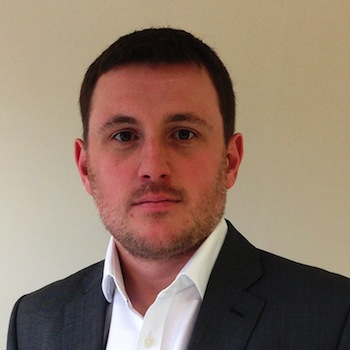 Photograph of Sean Blanks, marketing director at Cartridgesave