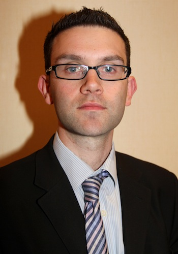 Photograph of Matthew Jaffa, senior development manager for London from the Federation of Small Business (FSB)