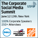 The Corporate Social Media Summit in New York banner