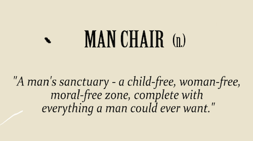 Scribbler.com what is The Man Chair description image