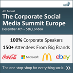 The Corporate Social Media Summit Europe (London) 2013