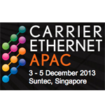 Carrier Ethernet APAC 2013