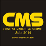 Asia's 1st Content Marketing Summit Announced in New Delhi, India
