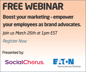 Hyperlink to sign-up for Useful Social Media (USM) Boost your marketing through employee advocate marketing free webinar
