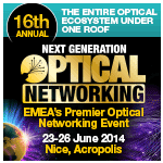 Next Generation Optical Networking - Nice Acropolis 2014