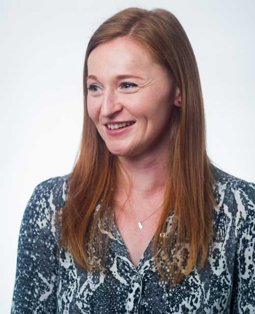 Photograph of Triana Murtagh, marketing programme manager at Sift Media