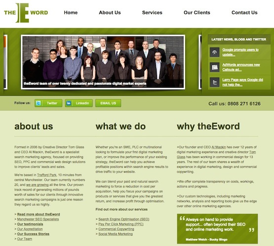 theEword website image