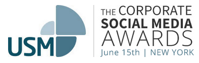 The Corporate Social Media Awards 2015 banner