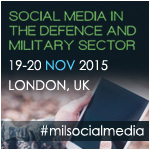 Social Media within the Defence & Military Sector banner