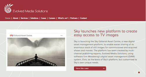 Evolved Media Solutions Sky