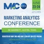 Marketing Analytics Conference 2016