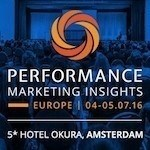 Performance Marketing Insights Europe 2016