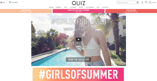 QUIZ Clothing GirlsofSummer image