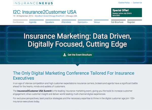 I2C: Insurance2Customer USA homepage image