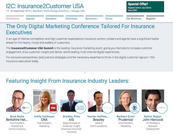 I2C: Insurance2Customer USA homepage speakers image