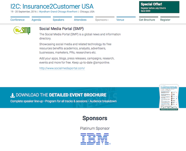 I2C: Insurance2Customer USA homepage sponsorship image