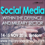 Twitter competition to explore social media integration in military activities.