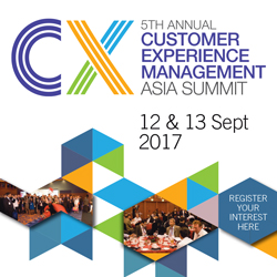 5th Annual Customer Experience Management Asia banner 250x250