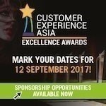 Customer Experience Asia Excellence Awards 2017