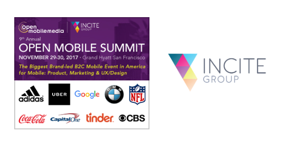 Hyperlink to The Open Mobile Summit San Francisco 2017 and Incite Group banner 600x300