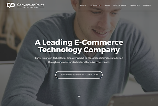 ConversionPoint Technologies Inc homepage image