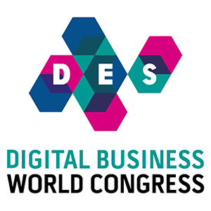 DES - Digital Business World Congress banner and logo 300x300