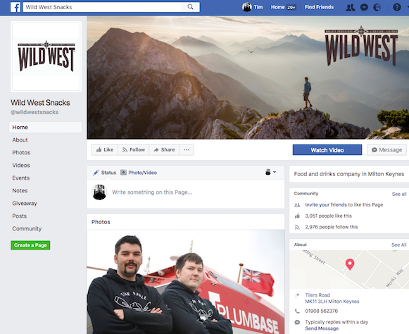 WildWest on Facebook
