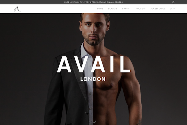 Avail London homepage image