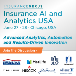 5th Annual Insurance AI and Analytics USA 2018 banner 250x250
