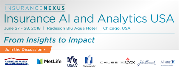 5th Annual Insurance AI and Analytics USA 2018 banner 600x