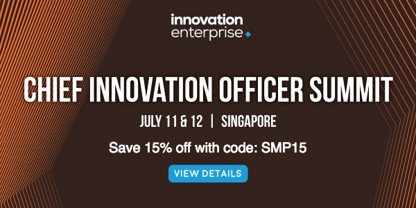 Chief Innovation Officer Summit Singapore 2018 banner 600x300