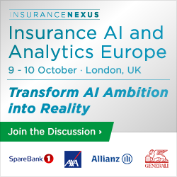 5th Annual Insurance AI and Analytics Europe banner 250x250