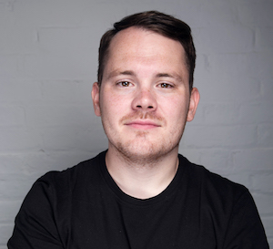 Photograph of Alex Packham, CEO and founder of ContentCal