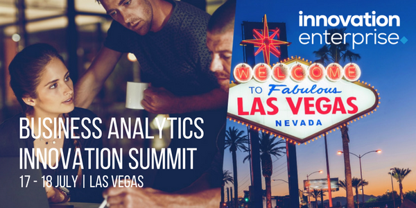 The Innovation Enterprise Group Business Analytics Summit Las Vegas 2018 banner 600x300