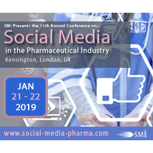 Social Media in the Pharmaceutical Industry 2019 banner 300x300