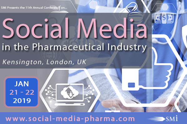 Social Media in the Pharmaceutical Industry 2019 banner 600x400