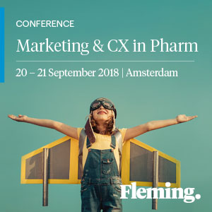 Marketing and CX in the Pharmaceutical Industry 2018 banner 300x300
