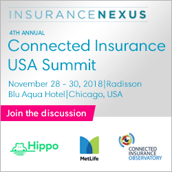 4th Annual Connected Insurance USA Summit 2018 banner 250x250