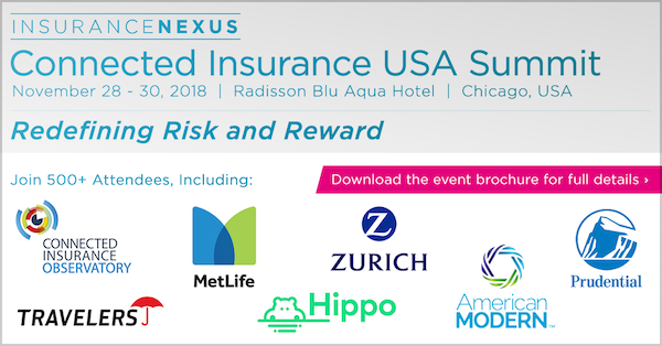 4th Annual Connected Insurance USA Summit 2018 banner 600x314