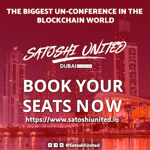Satoshi United un-conference 2018 banner 300x300